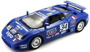 【送料無料】模型車 スポーツカー bburagoブガッティeb 110ルマン1994ダイカストモデル118 11039bburago bugatti eb 110 le mans 1994 diecast model scale 118 11039