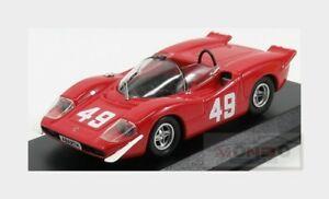 【送料無料】模型車 スポーツカー アバルト#モントベストモデルabarth 2000 se 2nd 49 mont ventoux 1969 amerzario red best 143 be9704 model