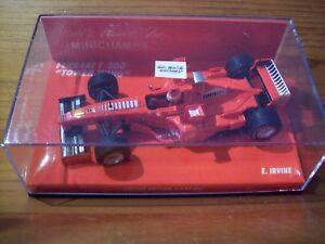 【送料無料】模型車 スポーツカー 143ferrari f300 eddie irvinetower wing1998143 ferrari f300 eddie irvine tower wing 1998