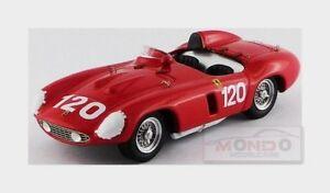【送料無料】模型車 スポーツカー フェラーリモンツァ#タルガフローリオアートモデルアートモデルferrari 750 monza 120 targa florio 1955 maglioli art model 143 art372 model
