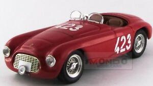 【送料無料】模型車 スポーツカー フェラーリバルケッタクモジャイロシチリアアートモデルアートferrari 166mm barchetta spider winner giro sicilia 1952 art model 143 art345 mo