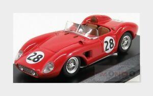 【送料無料】模型車 スポーツカー フェラーリクモ#セブリングアートモデルアートferrari 500 trc spider 28 sebring 1957 hively ginther art model 143 art386 mod