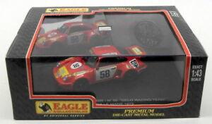 【送料無料】模型車 スポーツカー ワシスケールモデルカーポルシェカレラレーシング#eagle 143 scale model car 3681 porsche carrera rsr gelo racing 58 lm 1975