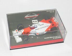 【送料無料】模型車 スポーツカー 143マクラレンメルセデス1996mp411デビッドクルサード143 mclaren mercedes mp411 david coulthard  1996 season