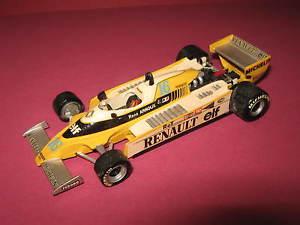 【送料無料】模型車 スポーツカー 143ルノーf1 rs20 rアルヌーショーケース1980handbuilttenariv143 renault f1 rs20 r arnoux 1980 handbuilt car tenariv in showcase