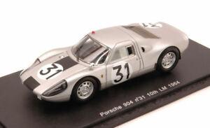 【送料無料】模型車 スポーツカー ポルシェ90431 10thルマン1964コッホシラー143スパークs3437モデルporsche 904 31 10th le mans 1964 kochschiller 143 spark s3437 model