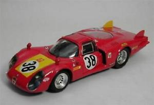 【送料無料】模型車 スポーツカー アルファロメオ332 clungaレマン1968 143ダイカストbe9252モデルカーalfa romeo 332 clunga lemans 1968 143 best be9252 model car diecast