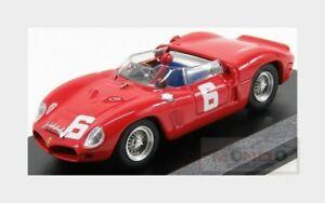 【送料無料】模型車 スポーツカー フェラーリ246spディノクモ6トロフィーハッチ1962143 art377ferrari 246sp dino spider 6 winner guards trophy brands hatch 1962 143 art377