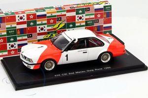 【送料無料】模型車 スポーツカー #ベルガーマカオギアレーススパークbmw 635 csi 1 gberger 2nd macau guia race 1985 le1300 143 spark