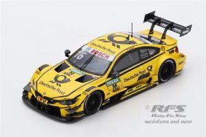 【送料無料】模型車 スポーツカー bmw m4 dtmティモグロックdtmホッケンハイム2017ドイツポスト143 spark sg 357