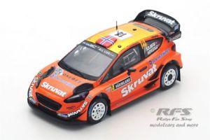 1:43 Ford Fiesta RS WRC Rallye Monte Carlo 2012 Henning Solberg RAM 495