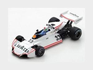 【送料無料】模型車 スポーツカー ブラバムマティーニ#オーストリアホワイトスパークbrabham f1 bt44b martini 33 austria gp 1976 l lombardi white spark 143 s7103