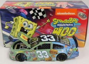 【送料無料】模型車 スポーツカー 33 chevy nascar 2015* spongebobシェルドンjプランクトン* ty dillon 124リメリック33 chevy nascar 2015 * spongebobsheldon j plankton * ty di