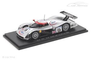 【送料無料】模型車 スポーツカー アウディルマンアプトaudi r8c 24h le mans 1999 abtortellijohanssonspark 143 s1807