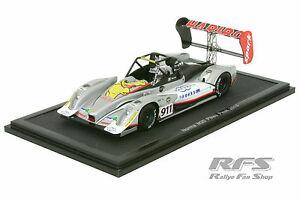 【送料無料】模型車 スポーツカー ノーマチームピークロマンデュマスパークnorma m20 team haribopikes peak 2013romain dumas 143 spark pp 002