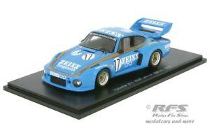 【送料無料】模型車 スポーツカー ポルシェカレラカールツァイスグランプリマカオギアスパークporsche 911 carrera rsr zeiss wache gp macau guia 1979 143 spark 43mc79