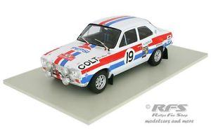 【送料無料】模型車 スポーツカー フォードエスコートモンテカルロトリプルford escort rs1600 mk i pepsirally monte carlo 1972 mkinen 118 triple 9