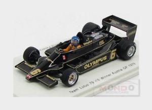 【送料無料】模型車 スポーツカー ロータス#オーストリアロニーピーターソンスパークモデルlotus 79 6 vainqueur f1 gp austria 1978 ronnie peterson spark 143 s1849 model