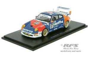 【送料無料】模型車 スポーツカー ポルシェグアテマラレプソルレーシングルマンスパークporsche 911 gt2 repsol racing 24h le mans 1995 143 spark 5512 amp; ovp