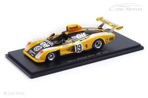 【送料無料】模型車 スポーツカー アルプスルノーa442  24hルマン1976 jabouilletambayスパーク143 s15alpine renault a442 24h le mans 1976 jabouilletambayspark 143 s15