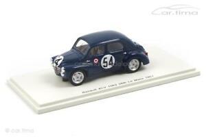 【送料無料】模型車 スポーツカー ルノールマンスパークrenault 4cv 1063 24h le mans 1951lecatsenfftlebenspark 143 s5211