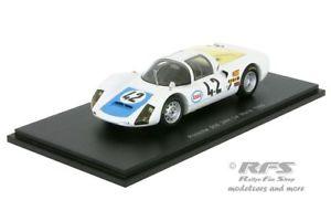 【送料無料】模型車 スポーツカー ポルシェルマンスパークporsche 9066 24h le mans 1968 poirotmaublanc 143 spark 4685