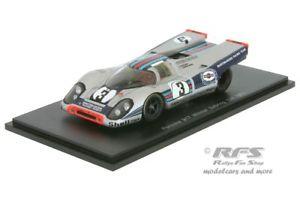 【送料無料】模型車 スポーツカー ポルシェマティーニセブリングスパークporsche 917 k martini 12h sebring 1971 elford larrousse 143 spark 43se71