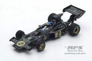 【送料無料】模型車 スポーツカー ロータスフォードロニーピーターソンフォーミュラフランススパークlotus 72e ford ronnie peterson formula 1 france 1973 143 spark 7128