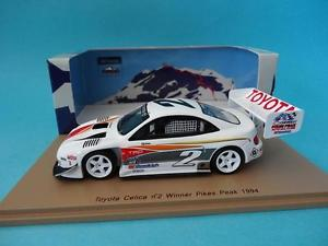 【送料無料】模型車 スポーツカー トヨタセリカ#ロッドパイクスピークスパークtoyota celica 2 rod millen 1 pikes peak 1994 143 spark 43pp94