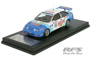 【送料無料】模型車 スポーツカー フォードシエラプリンシペデアストゥリアスアロンソford sierra rs cosworthrallye principe de asturias 1989alonso 143 trofeu