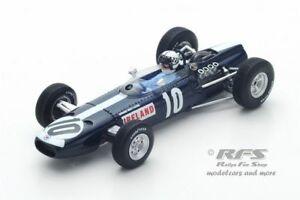 【送料無料】模型車 スポーツカー イネスアイルランドフォーミュラグランプリメキシコスパークbrm p261 innes ireland formula 1 gp mexico 1966 143 spark 5275