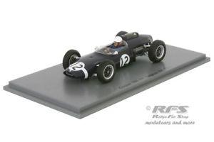 【送料無料】模型車 スポーツカー クーパークライマックスフォーミュラグランプリベルギースパークcooper t60 climaxjoakim bonnierformula 1 gp belgium 1963 143 spark 4804