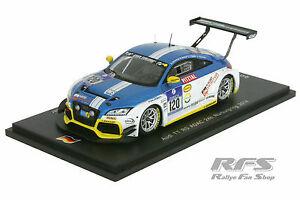 【送料無料】模型車 スポーツカー アウディチームエンジニアリングニュルブルクリンクシングルaudi tt rs team lms engineering 24h adac nrburgring 2014 143 spark sg140