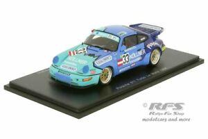 【送料無料】模型車 スポーツカー ポルシェターボルマンコンラッドデスパークporsche 911 turbo 24h le mans 1994 konrad de azevedo summer 143 spark 4442