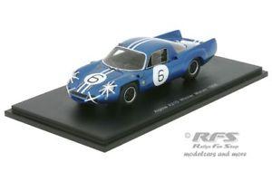 【送料無料】模型車 スポーツカー アルパインルノーマウロビアンキグランプリマカオスパークalpine renault a210mauro bianchiwinner gp macau 1966 143 spark 43mc66