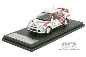 【送料無料】模型車 スポーツカー ランサーエボラリースウェーデンmitsubishi lancer evo iirally sweden 1995tommi mkinen 143 hpi 8548