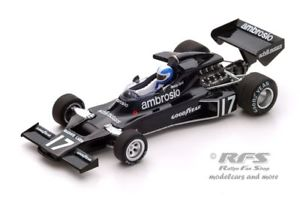 【送料無料】模型車 スポーツカー シャドウフォードフォーミュラブラジルスパークshadow dn5b ford renzo zorzi formula 1 brazil 1977 143 spark 3841