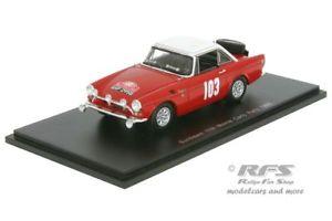 【送料無料】模型車 スポーツカー サンビームモンテカルロラリーコーワンスパークsunbeam tigermonte carlo rally 1965cowanturvey 143 spark 4060