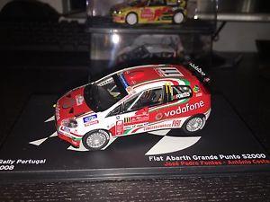 【送料無料】模型車 スポーツカー フィアットアバルトグランデプントラリーポルトガルウルトラレアホセペドロfiat abarth grande punto s2000 rally portugal ultra rare jos pedro fontes