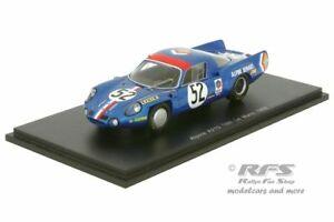 【送料無料】模型車 スポーツカー アルプスルノーa210 24hルマン1968 theriertramont  1434373alpine renault a210 24 h le mans 1968 thrier tramont 143 spark 4373