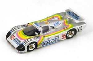 【送料無料】模型車 スポーツカー sauber c6 n9523lm 1986 basrlacaudtapy 143スパークs4081モデルsauber c6 n95 23th lm 1986 basrlacaudtapy 143 spark s4081 model