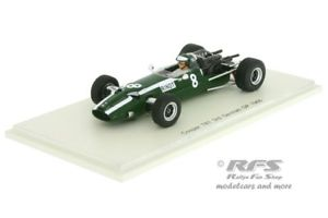 【送料無料】模型車 スポーツカー クーパードイツスパークcooper t81 maseratijochen rindtformula 1 germany 1966 143 spark 5291