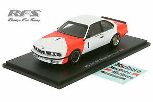 【送料無料】模型車 スポーツカー マカオ1984ハンスヨアヒムbmw 635 csiレース143スパークsa054