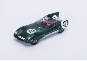 【送料無料】模型車 スポーツカー ロータスxiスパイダー42 24hルマン1957rwalshaw jドルトングリーンスパーク143 s4400mlotus xi spider 42 24h le mans 1957 r walshaw j dalton green spark