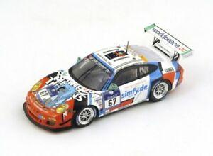 【送料無料】模型車 スポーツカー ポルシェ911 gt3カップ67 adac nurburgring2014raceunionスパーク143 sg138モデルporsche 911 gt3 cup 67 adac nurburgring 2014 raceunion spark