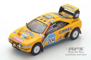 【送料無料】模型車 スポーツカー プジョーパリダカールラリースパークpeugeot 405 t16 rallye parisdakar 1990 bjorn waldegard 143 spark 5625