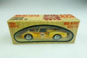 【送料無料】模型車 スポーツカー ポルシェカレラレーサーボックスa25 mebetoys 143 porsche 910 carrera 10 racer 1966 with box 509193