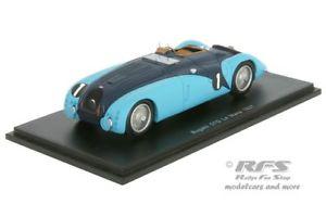 【送料無料】模型車 スポーツカー ブガッティgルマンスパークbugatti 57g 24h le mans 1937labricveyron 143 spark 2736