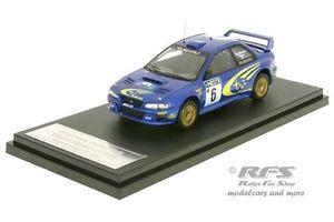 【送料無料】模型車 スポーツカー スバルimpreza wrcフィンランド1999kankkunen 143 hpi8599subaru impreza wrcrally finland 1999kankkunen 143 hpi 8599