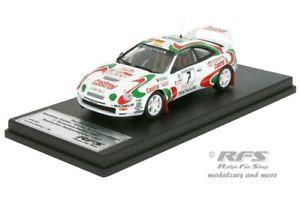 【送料無料】模型車 スポーツカー トヨタcelica gt4 st205フンスリュック1997マッテヤ143 trofeu rfs